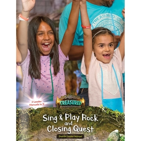 Treasured Sing & Play Rock and Closing Quest Leader Manual (Downloadable PDF)
