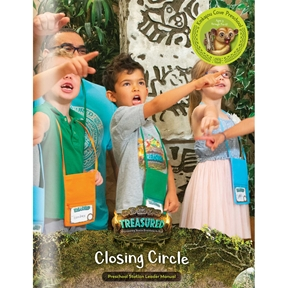 Treasured Kinkajou Cove Preschool Closing Circle Leader Manual