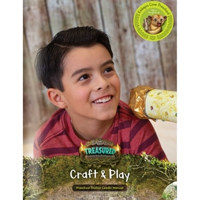Treasured Kinkajou Cove Craft & Play Leader Manual (Downloadable PDF)