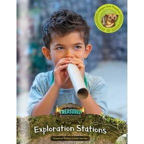 Treasured Kinkajou Cove Exploration Stations Leader Manual (Downloadable PDF)