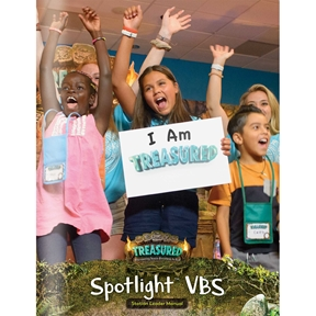 Treasured Spotlight VBS Leader Manual (Downloadable PDF)