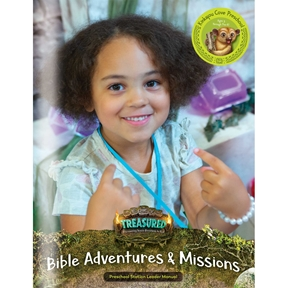 Treasured Kinkajou Cove Preschool Bible Adventures & Missions Leader Manual