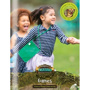Treasured Kinkajou Cove Preschool Games Leader Manual