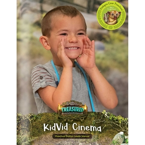 Treasured Kinkajou Cove Preschool KidVid Cinema Leader Manual