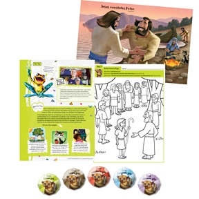 Kinkajou Cove Preschool Bible Pack