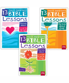 13 Most Important Bible Lessons Set