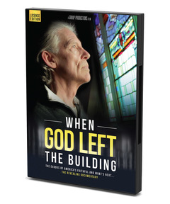 When God Left the Building Screening License: More Than 1000 People