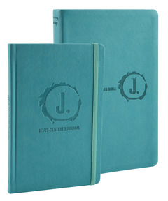 Jesus-Centered Bible and Journal (Turquoise) Bundle