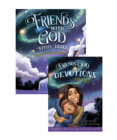 Friends With God Story Bible and Devotion Set